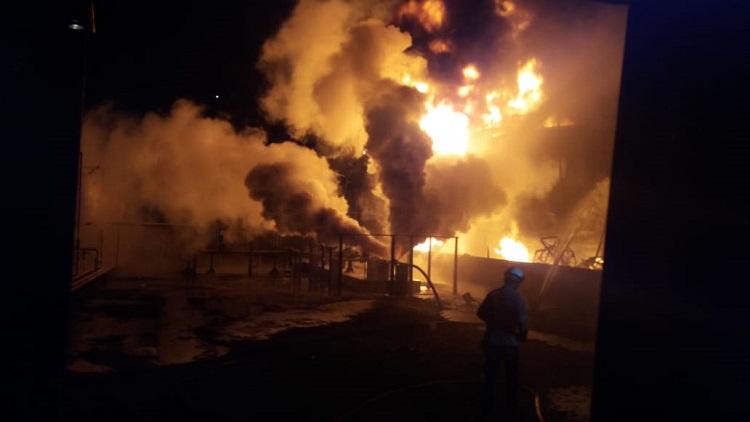Incêndio em fábrica da Proquigel não gerou vítimas